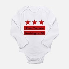 River Terrace Long Sleeve Infant Bodysuit