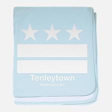 Tenleytown Washington DC baby blanket