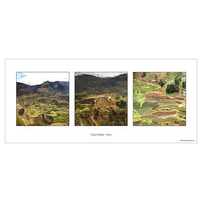 Colca Valley Peru Poster