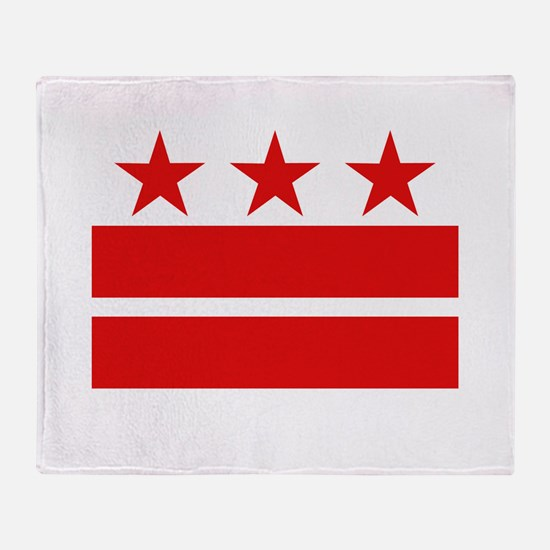 3 Stars and 2 Bars Throw Blanket