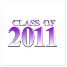 Class of 2011 Purple Poster