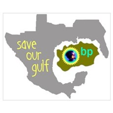 Save Our Gulf Framed Print