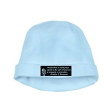 FDR on Peace baby hat