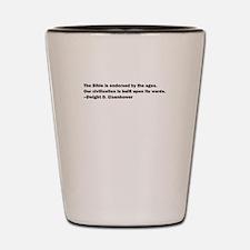 Eisenhower Quote Shot Glass