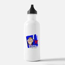 I Vote Water Bottle