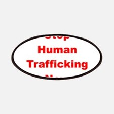 Stop Human Trafficking Now Patches
