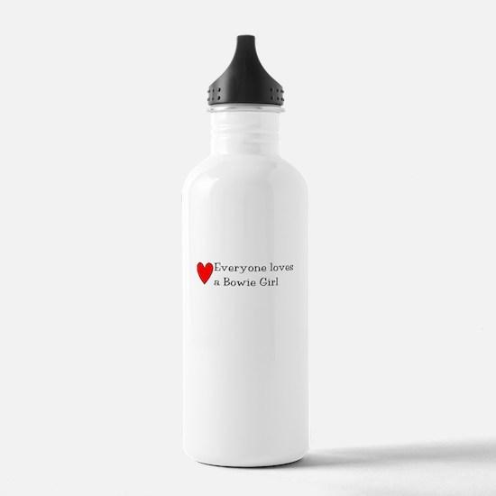Bowie Girl Water Bottle