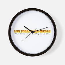 'Los Pollos Hermanos' Wall Clock
