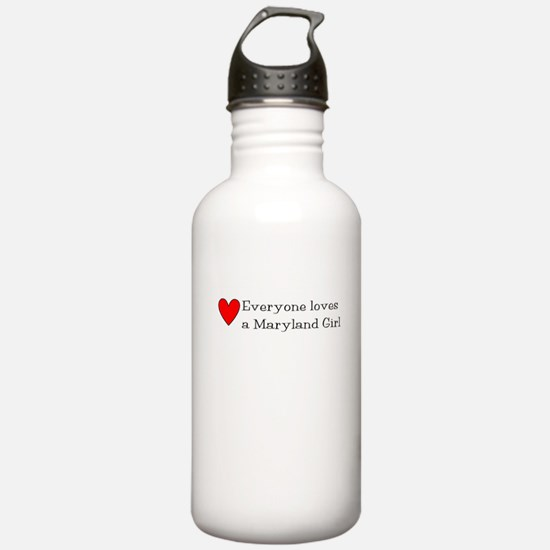 Everyone Loves a Maryland Gir Water Bottle