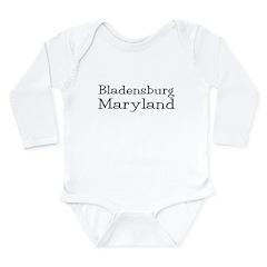 Bladensburg Maryland Long Sleeve Infant Bodysuit