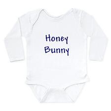 Honey Bunny Long Sleeve Infant Bodysuit