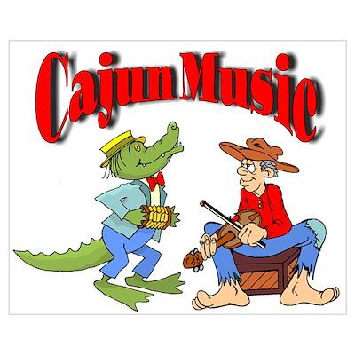 Cajun Music Poster