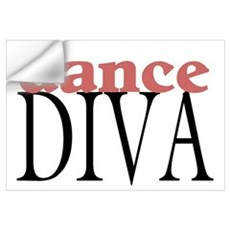 Dance Diva Wall Decal