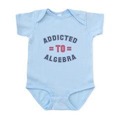 Addicted to Algebra Infant Bodysuit