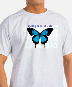 Spring Is In The Air Ash Grey T-Shirt