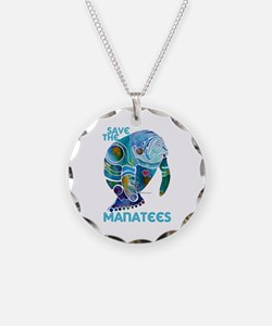 Save the Manatees Necklace