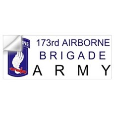 173rd AIRBORNE Wall Decal