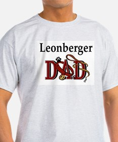 Leonberger Dad Ash Grey T-Shirt