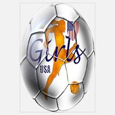 US Girls Soccer Ball