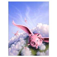 Pigs Away! Poster