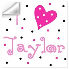 ~ I (Heart) Taylor Wall Decal