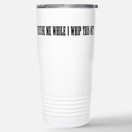 Cute Mel brooks Travel Mug