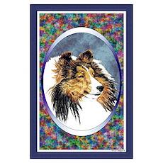 Shetland Sheepdog Designer Poster