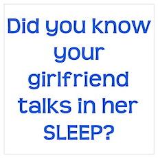 Girlfriend Talks in Sleep Poster