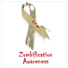 Zombification Awareness Poster