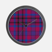 Tartan - Murray of Tullibardine Wall Clock