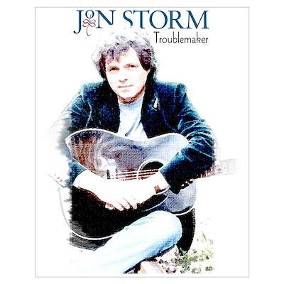 Jon Storm Illustration Poster