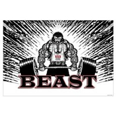 BEAST Canvas Art