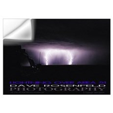 Area 51 Lightning Wall Decal