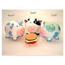 The Sad Cows Poster
