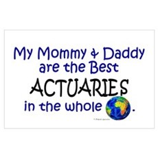 Best Actuaries In The World Poster