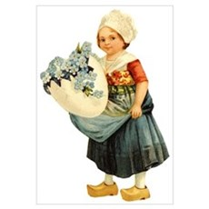 Little Dutch Girl Poster