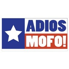Adios Mofo (Secede) Canvas Art