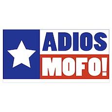 Adios Mofo (Secede) Poster