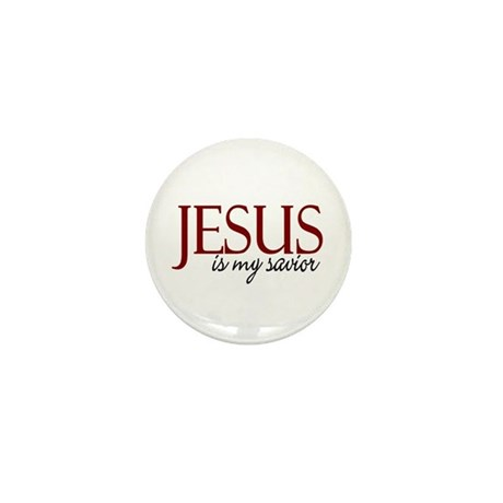 Jesus is my Savior Mini Button