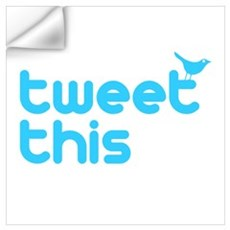 Tweet This Wall Decal