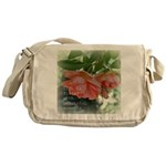 Beautiful Moments Roses Messenger Bag