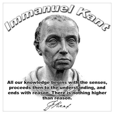 Immanuel Kant 01 Poster