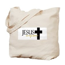 Jesus is my Savior II Tote Bag