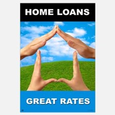 """Home Loans-Great Rate<br>Lobby <br>23"""" x 35"""""""