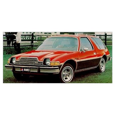 AMC Pacer Wagon Poster