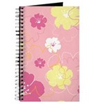 Floral Pink Yellow Journal