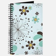 Abstract Flowers Journal
