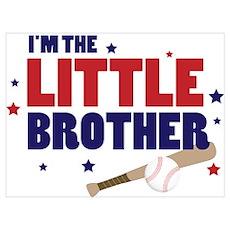 little brother baseball Poster