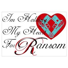 Holding Heart 4 Spunk Ransom Poster