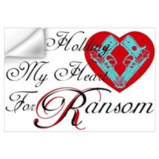 Holding Heart 4 Spunk Ransom Wall Decal